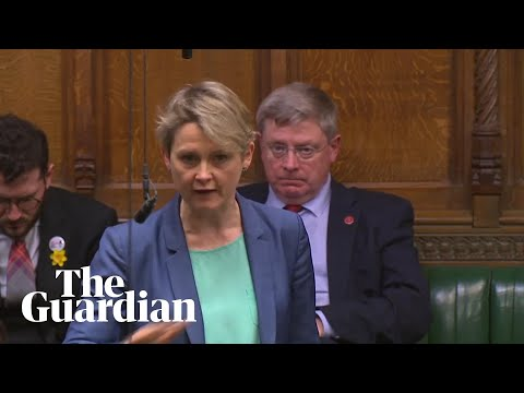 Yvette Cooper: amendment was a 'vote against chaos of no deal'