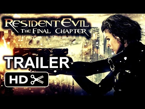 RESIDENT EVIL  THE FINAL CHAPTER - THE END - FINAL MOVIE TRAILER Movie Poster