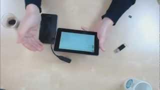 Comment connecter et exploiter une clé USB sur une tablette Android ?