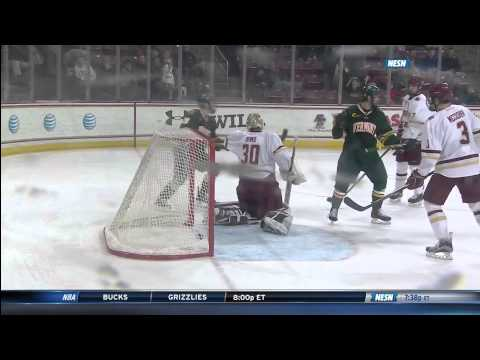 Hockey East Quarterfinal Vermont at Boston College - 3/14/15