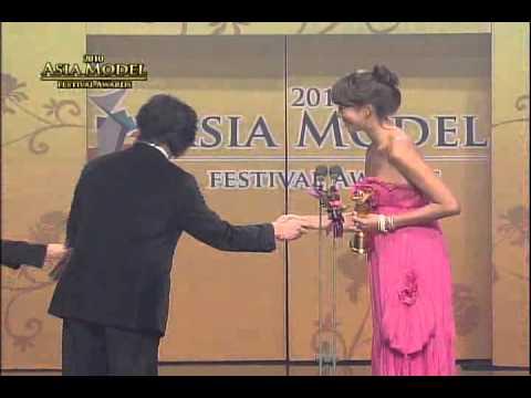 """2010 Asia Model Awards """"Taiwan Model Star Award""""  Lance Yu, Yuli Lin"""