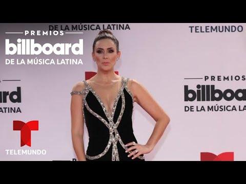 Jackie Bracamontes se queda con ganas de una foto con este famoso | Premios Billboard 2020