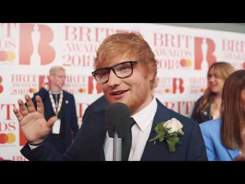 Ed Sheeran BRITs 2018 red carpet full interview | Magic Radio
