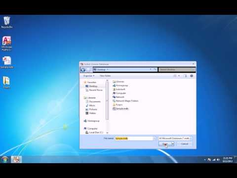 How To Use MS Access FoxPro Import, Export & Convert Software