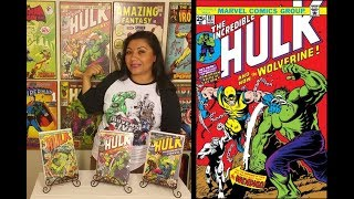 Ep. 32 - Hulk No. 180. 181. 182. - (1st Appearance of Wolverine)