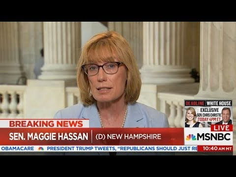 """Senator Hassan on MSNBC: New Republican Plan """"Would Cause Premiums to Skyrocket"""""""