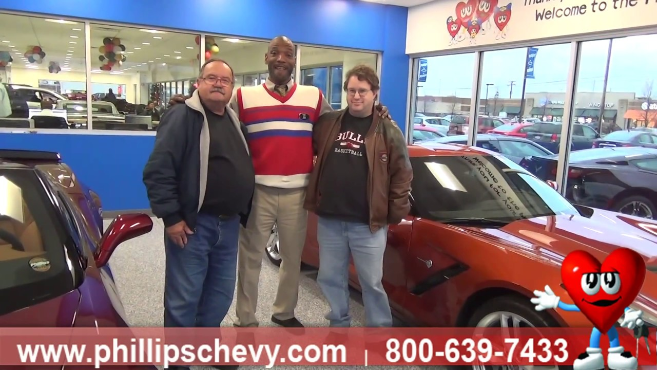 Chevy Corvette Customer Review Phillips Chevrolet Chicago - Phillips chevy car show