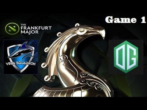 Vega vs OG, 1 игра, The Frankfurt Major, decider match(Русскоязычный стрим)