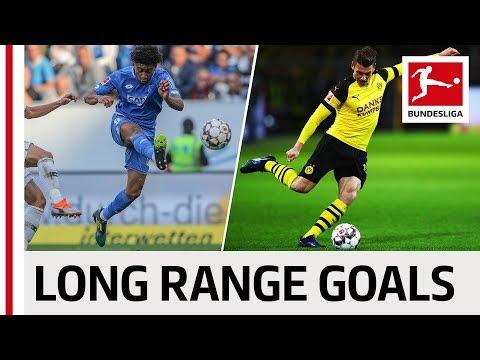 Top 10 Long Range Goals 2018/19 So Far - Nelson, Piszczek, Cunha & More