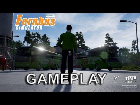 Fernbus Simulator Gameplay (EVGA GTX 1070 FTW)  