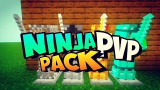 NINJA PVP PACK [16x] TEXTURA PARA MINECRAFT BEDROCK 1.16