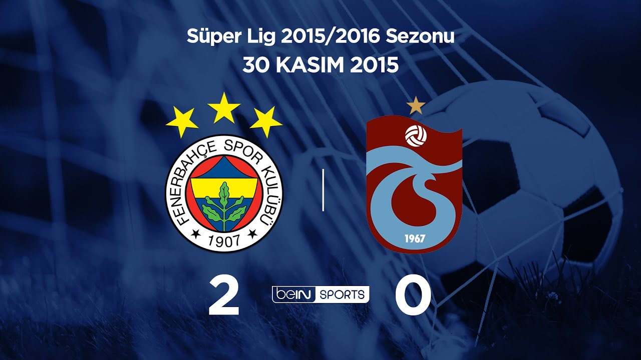 30.11.2015 | Fenerbahçe-Trabzonspor | 2-0