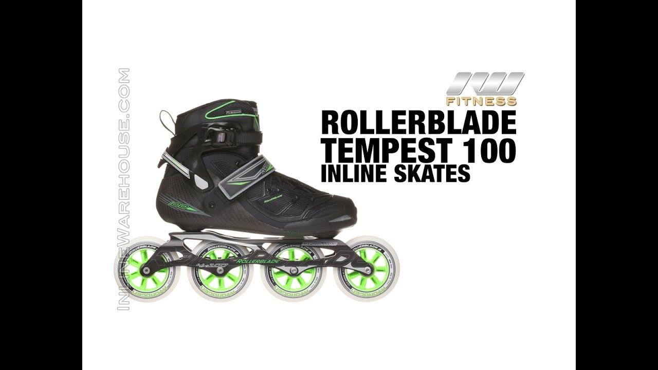 Inlineskates Rollerblade Tempest 100 C Inlineskating