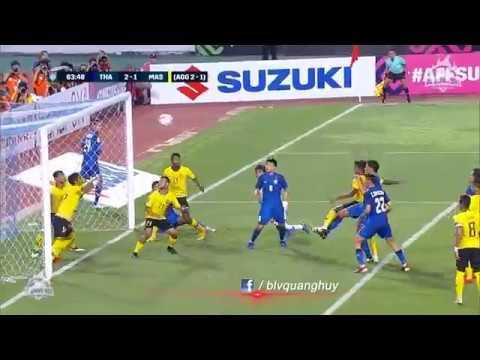 Highlights   Thái Lan vs Malaysia   Bán kết lượt về AFF Suzuki Cup 2018   BLV Quang Huy