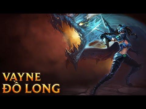 Vayne Đồ Long - Dragonslayer Vayne - Skins lol