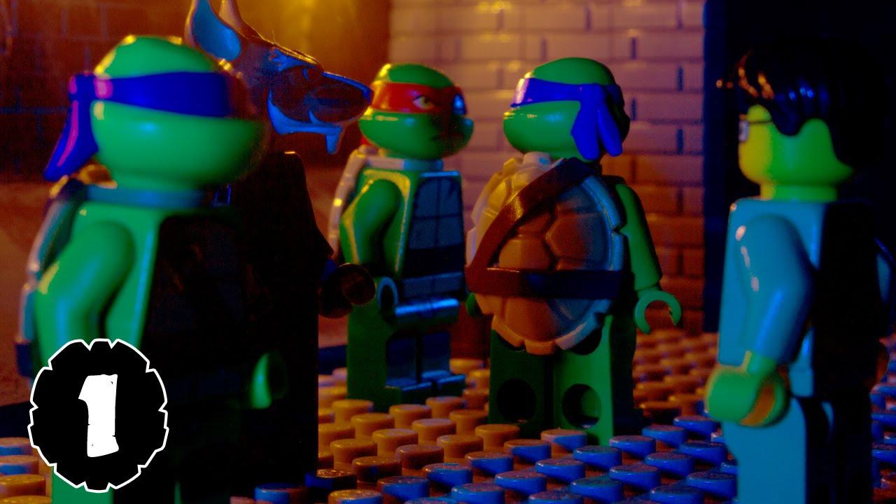 lego tmnt teenage mutant ninja turtles episode 1 youtube. Black Bedroom Furniture Sets. Home Design Ideas