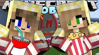 Minecraft Jobs -Little Carly - WORKING AT THE CINEMA! w/Little Kelly