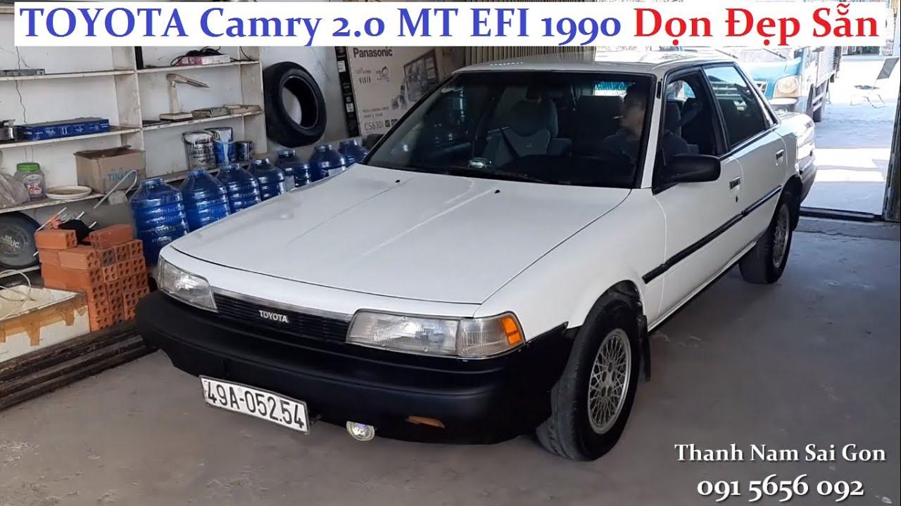 Bán xe ký gởi TOYOTA Camry 2.0 MT EFI 1990 – 68 triệu|Xe dọn a-z, vỏ mới, đ.kiểm mới, đổ xăng thôi!!