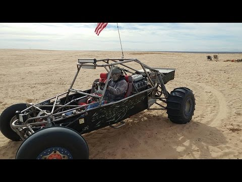 Honda Sand Rails Ripping In Glamis