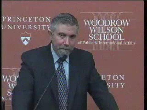 Paul Krugman Nobel Prize News Conference
