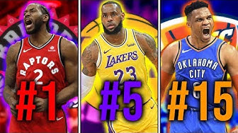 Ranking the Top 30 Players in the NBA Today
