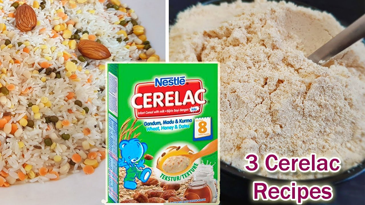 Baby Food 3 Cerelac Recipes Weight Gaining Amp Healthy
