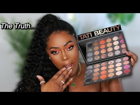 So I Tried Tati Beauty Eyeshadow Palette Vol 1... Tati Westbrook Makeup? thumbnail