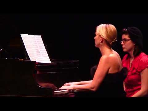 """Double Sharp,"" Piano Duo with Natasha Marin and Maria Demina"