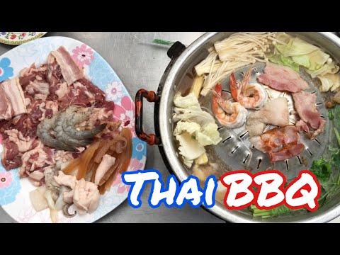 คุณเปิ้ลหมูกระทะ Thai BBQ , Mhoo Kra Ta   Food in Bangkok