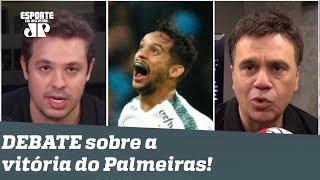 """""""O Palmeiras virou FAVORITO, mas ainda não ganhou NADA!"""" Veja DEBATE!"""