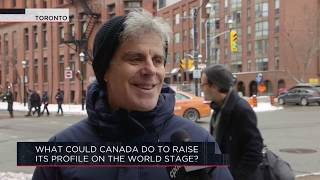 What could Canada do to raise its profile on the world stage? | Outburst