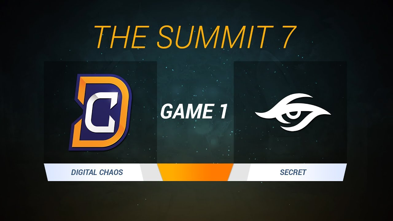 The Summit 7 Team Secret Vs DC Game 1 Caster