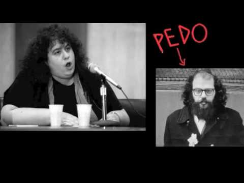 Andrea Dworkin calls out Allen Ginsberg over his support for child pornography and pedophilia