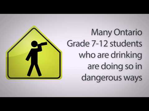 Sobering stats on Youth and Alcohol