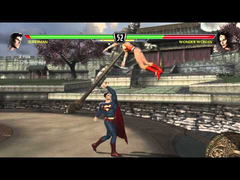 Mortal Kombat Vs DC Universe Playthrough_Superman