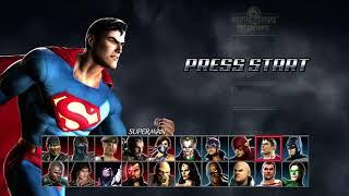 Mortal Kombat vs DC Universe playthrough_Superman