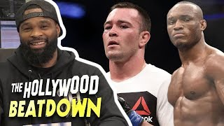 Tyron Woodley 'Cleared Out' Welterweight And Aims For 'Champ Champ' | The Hollywood Beatdown