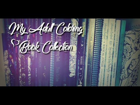 My Adult Coloring Book Collection