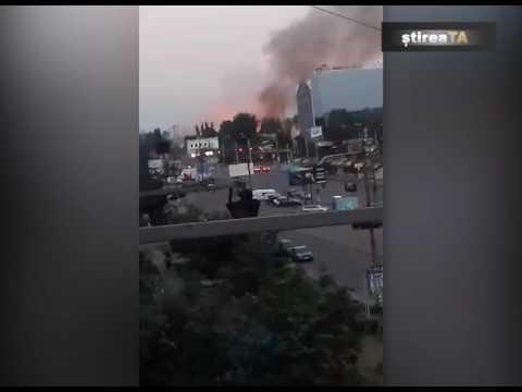 Incendiu la Stadionul Republican