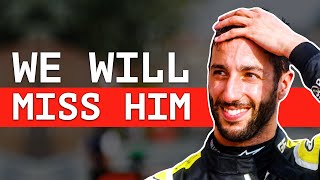 Renault Reveal What They Will Miss About Ricciardo