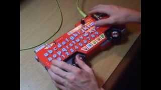 Circuit Bent Fireman Sam Alphabet Rescue v2