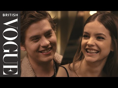 A Dinner Date With Barbara Palvin & Dylan Sprouse  British Vogue