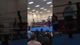 Chad'maurion Heath Golden Glove Tournament First Fight