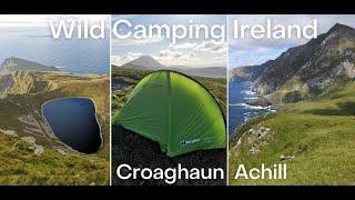 Wild Camping in Ireland | Croaghaun | Achill Island