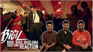 BIGIL BIGIL BIGILUMA Song Reaction | BIGIL | Thalapathy Vijay