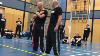 Third Party Protection II with Amnon Darsa at Institute Krav Maga Netherlands.