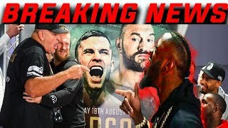 Deontay Wilder Crashes Tyson Fury Press Conference