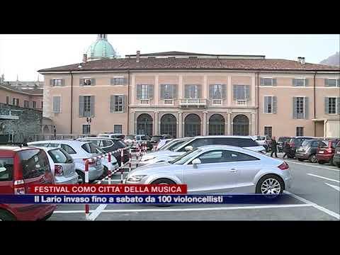 Etg - Festival Como Città della Musica, il Lario invaso fino a sabato da cento violoncellisti
