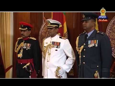 High Commissioner of India to Sri Lanka H.E. Mr. Y. K. Sinha presents credentials