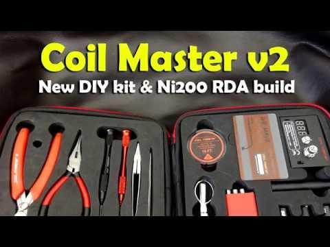 Coil Master DIY Kit V2 & Ni200 RDA Build